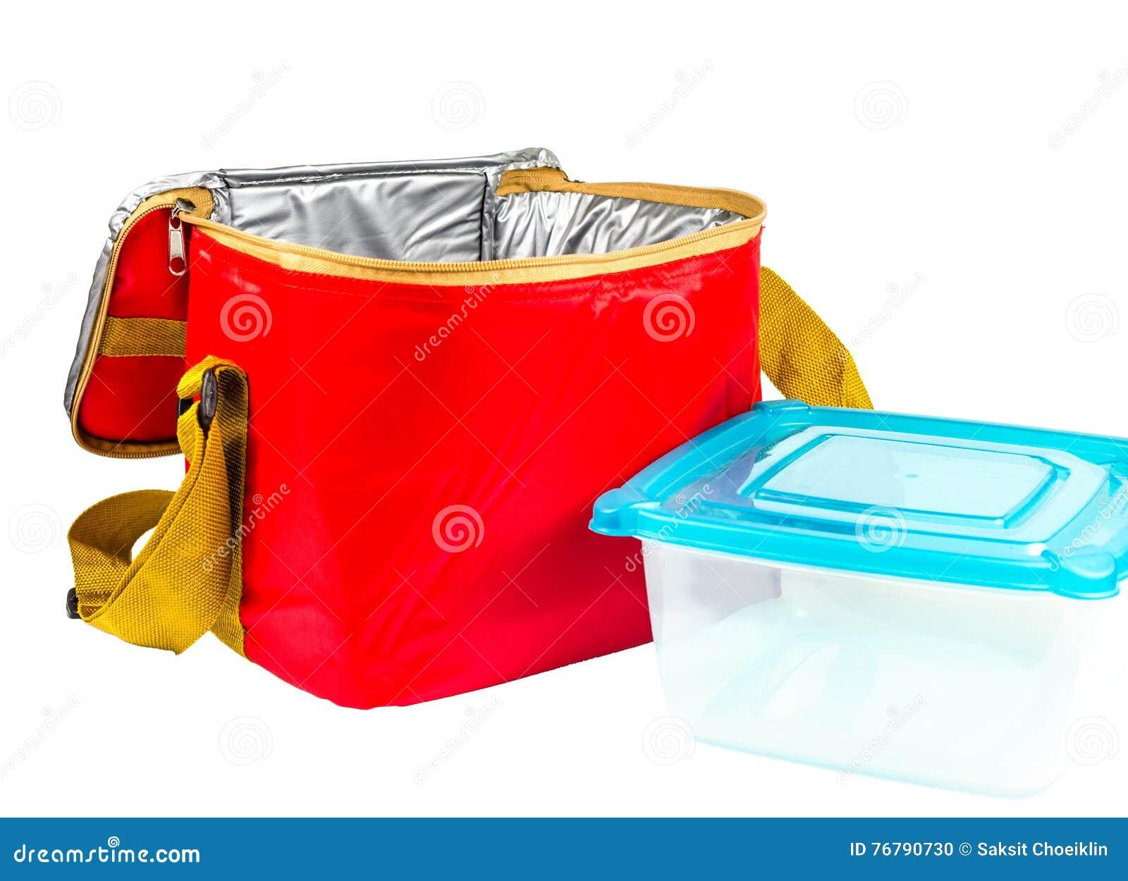 Sac isolé par rouge de stockage de nourriture