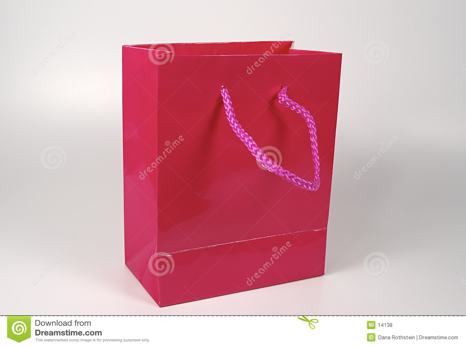 Sac rose de cadeau