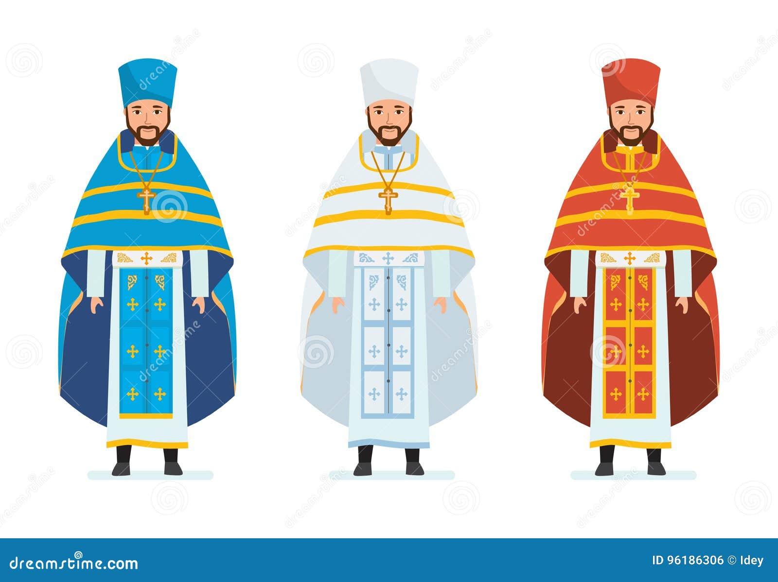 Sacerdoti Religiosi, In Bei Abiti Spirituali, Abiti Talari
