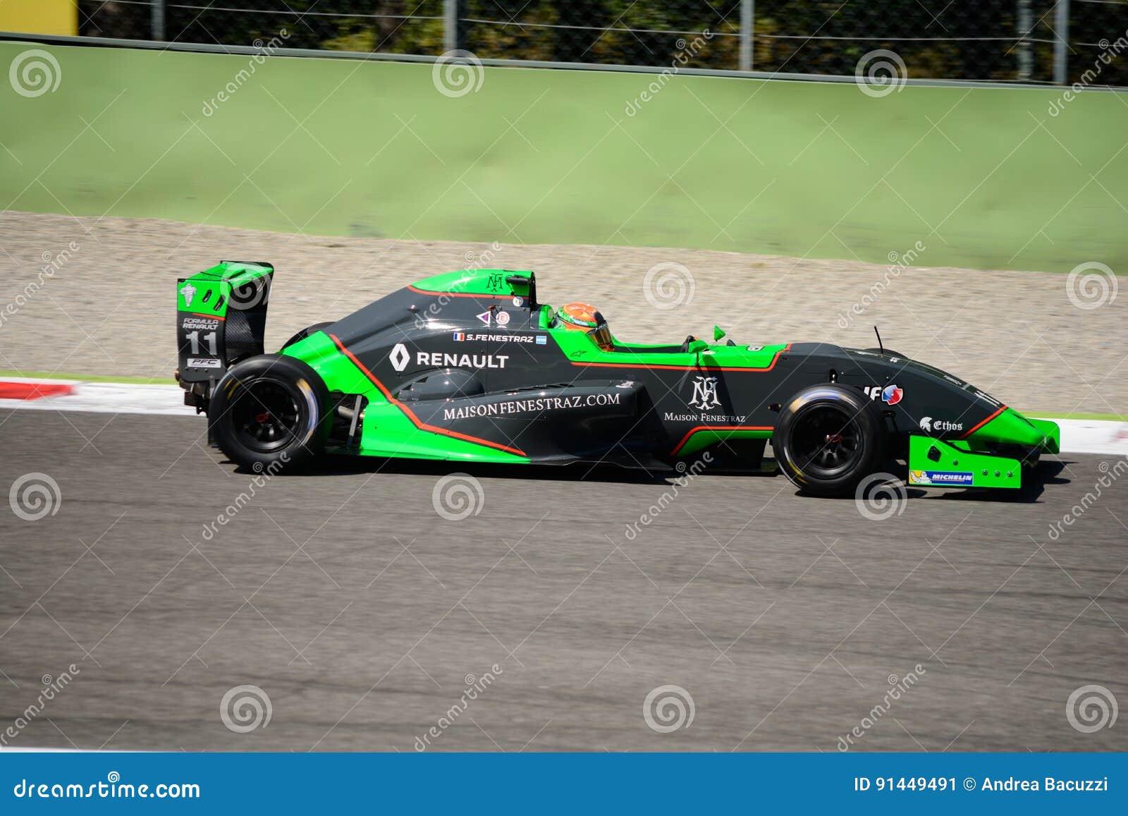 Sacha Fenestraz jedzie formułę Renault 2 (0) przy Monza