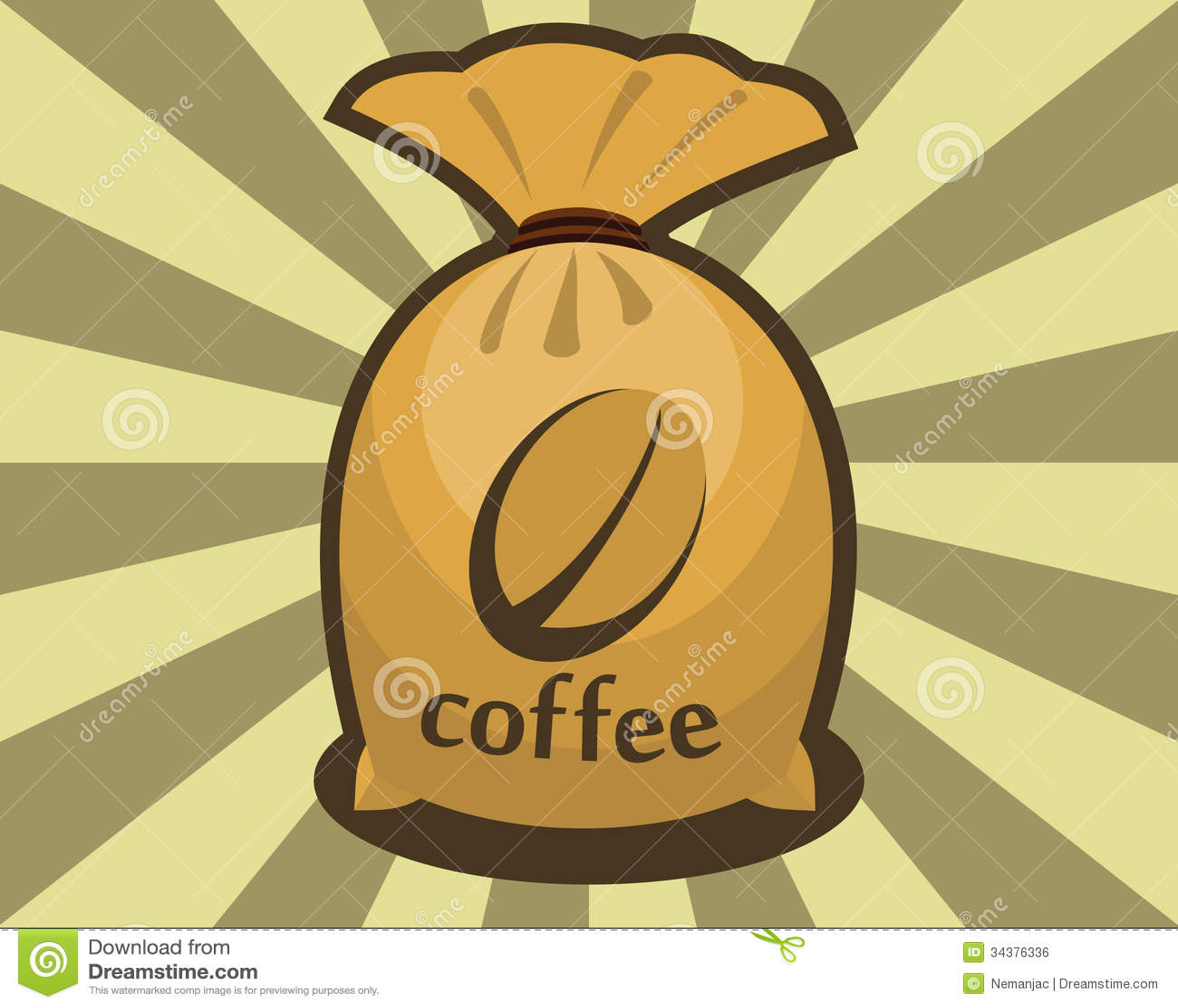 Sack Kaffeebohnen