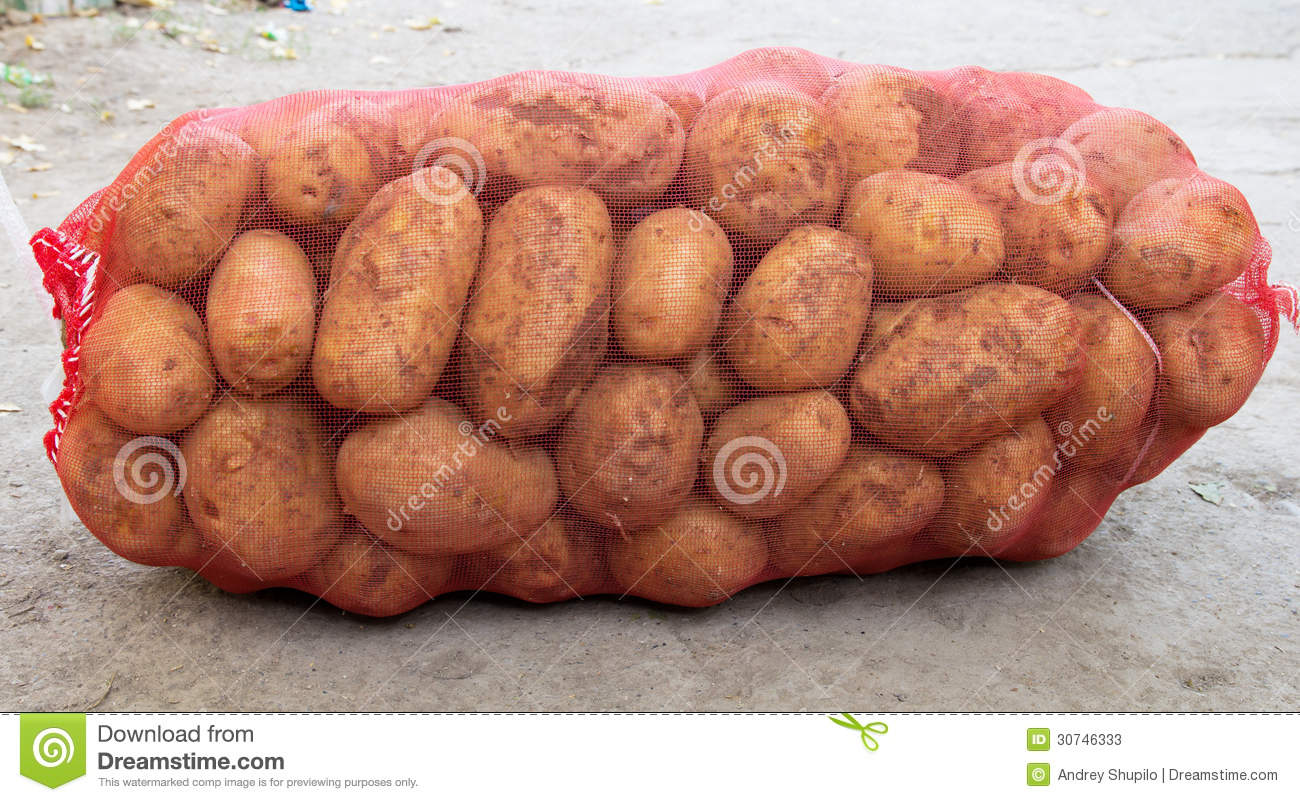 Sack Of Potatoes Stock Photos - Image: 30746333