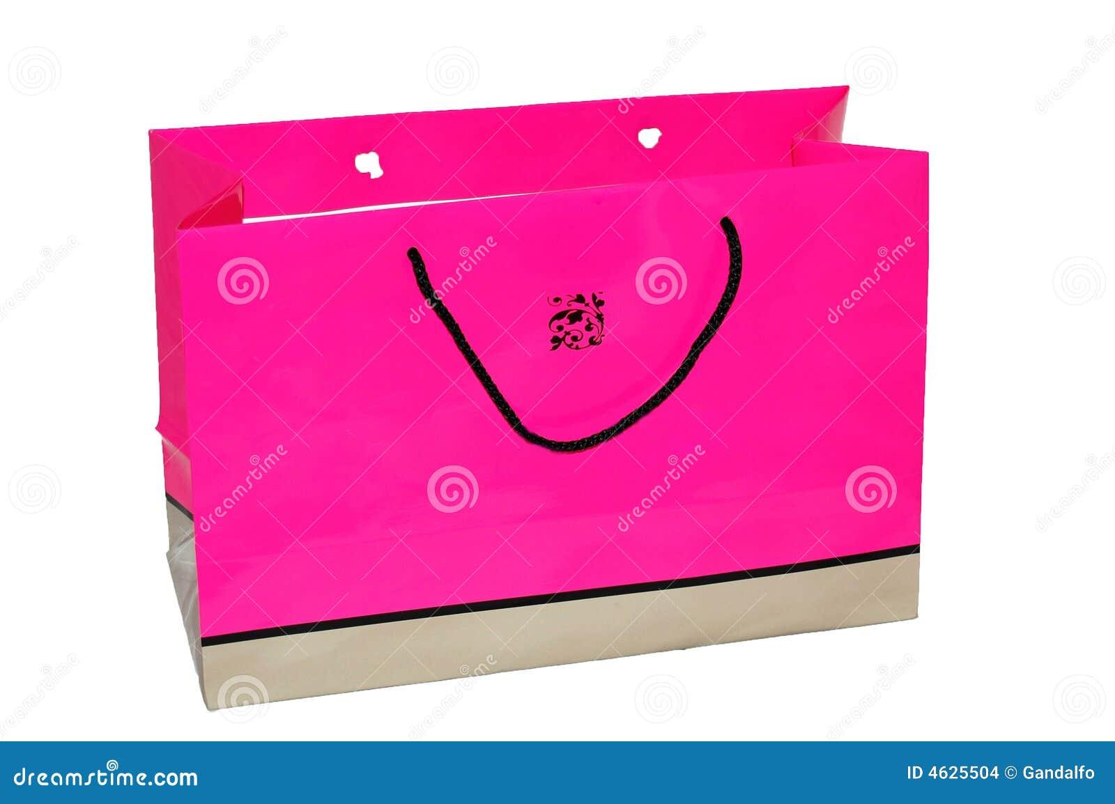 Saco cor-de-rosa