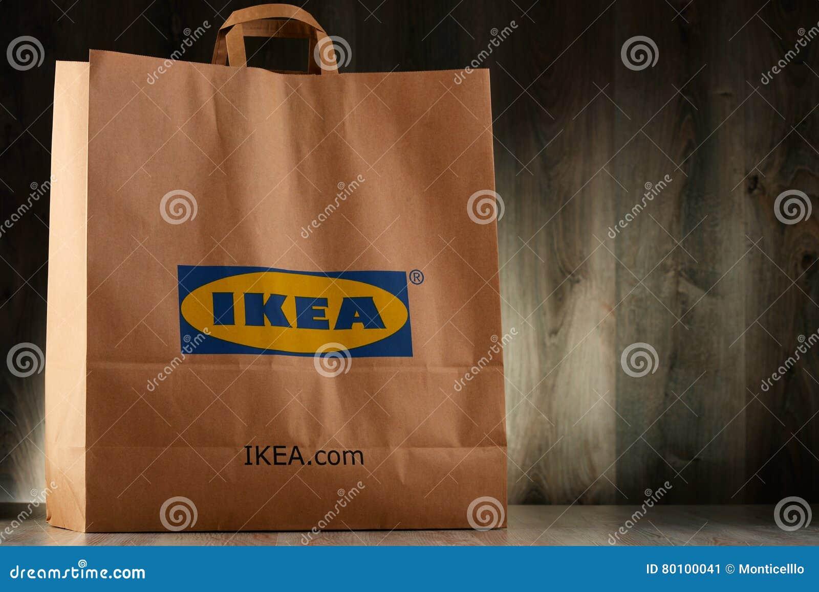 Saco de compras original do papel de IKEA