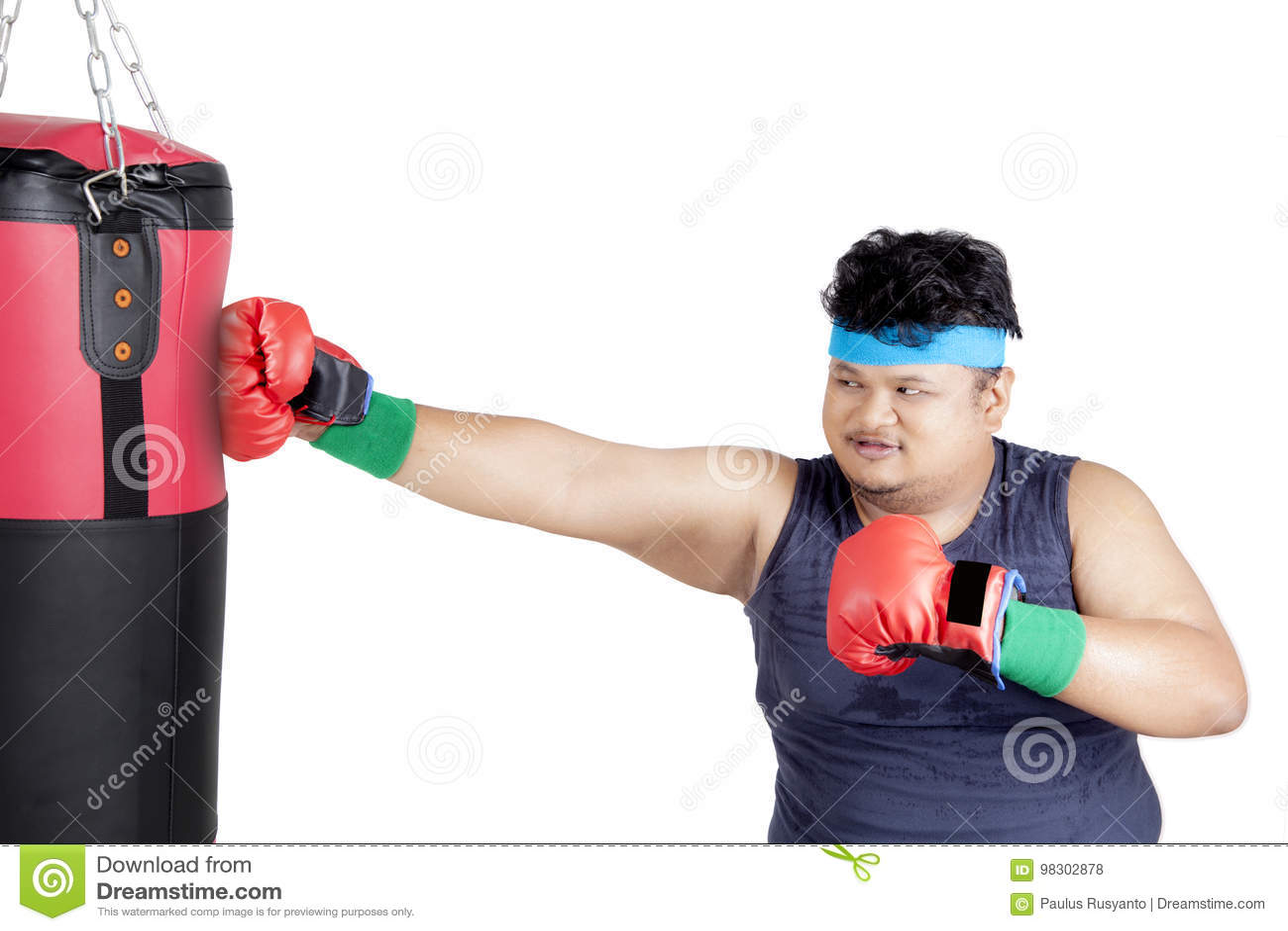 perder peso saco boxeo