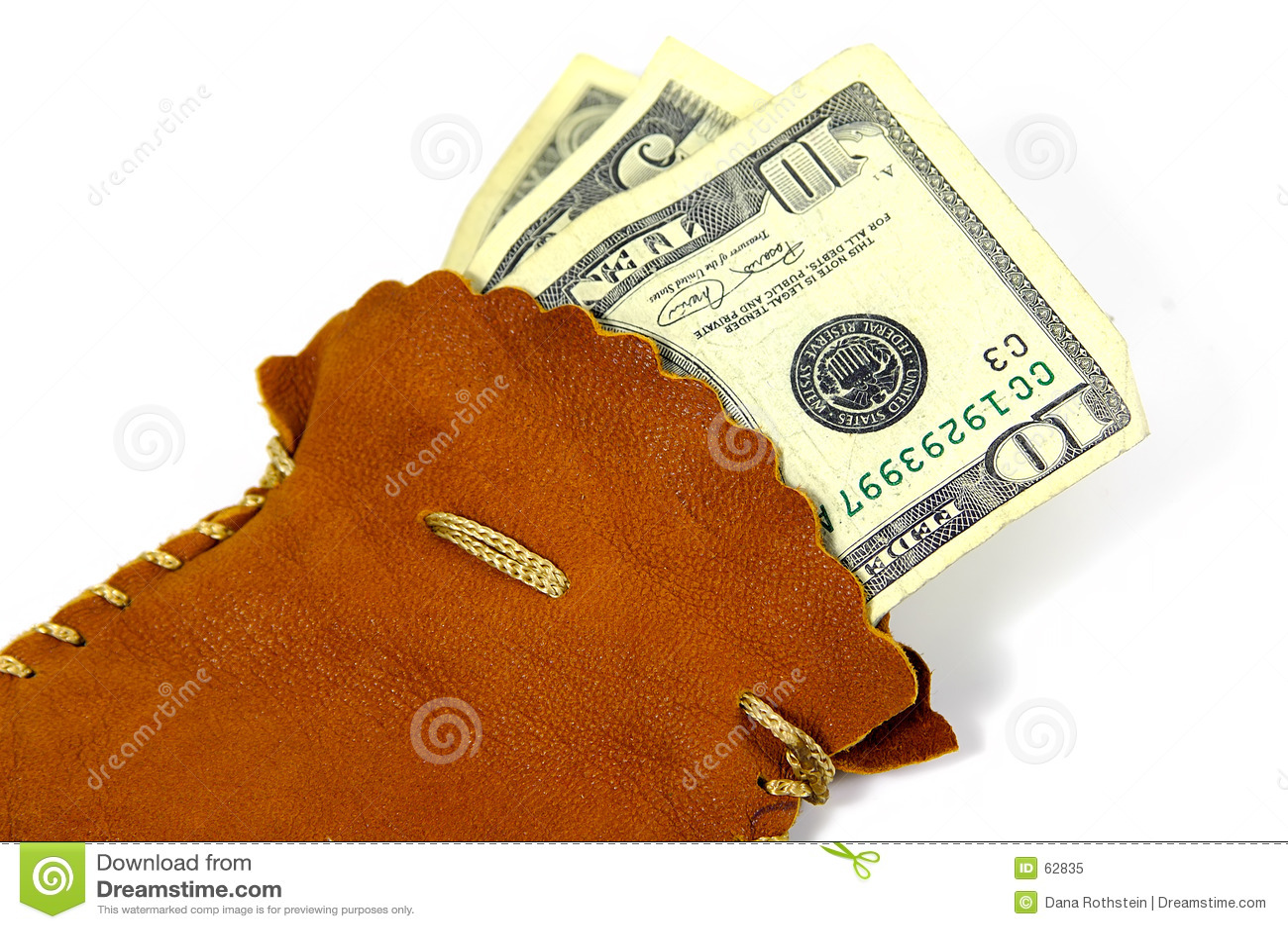Saco del dinero