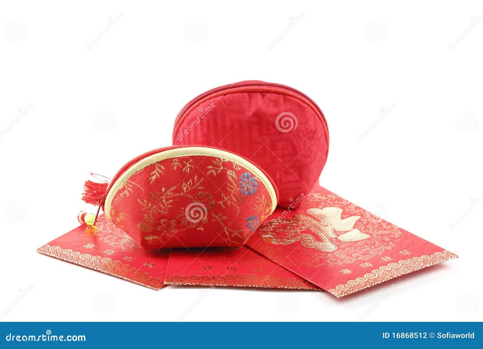 Saco do dinheiro do chinês tradicional