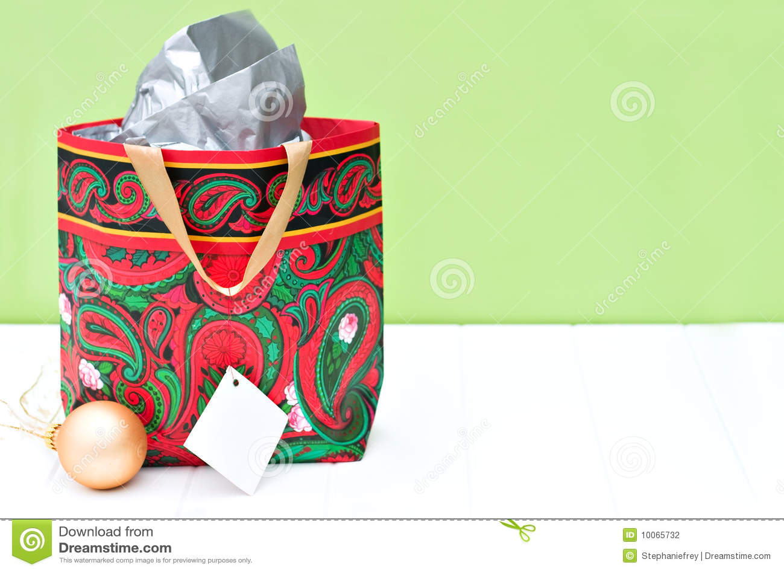 Saco do presente para o Natal