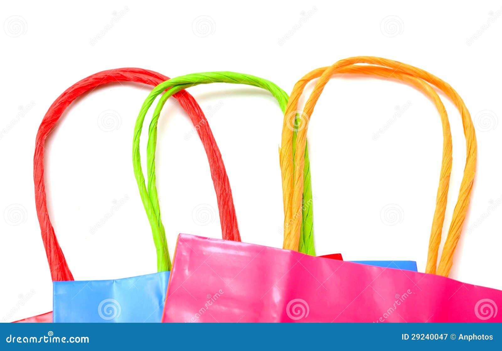 Download Sacos de compras imagem de stock. Imagem de venda, azul - 29240047