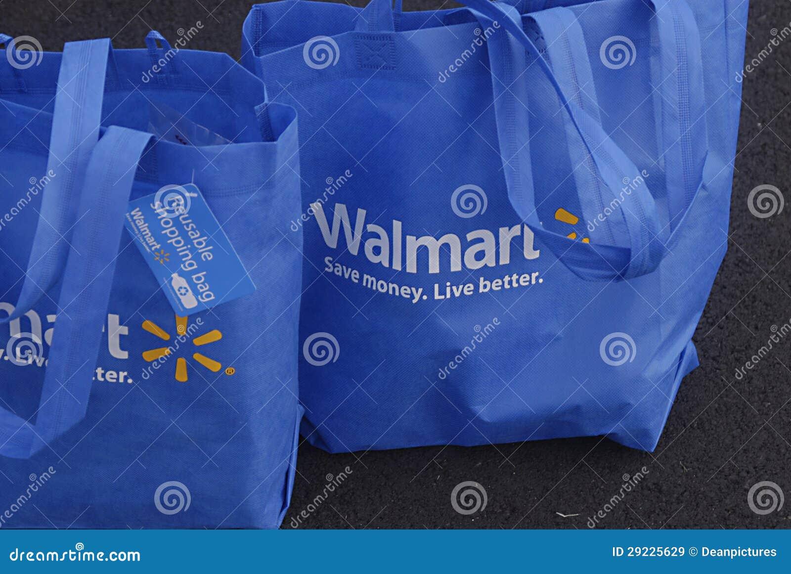 Download Sacos De Compras De HAWAII_USA_Walmart Imagem de Stock Editorial - Imagem de kauai, azul: 29225629