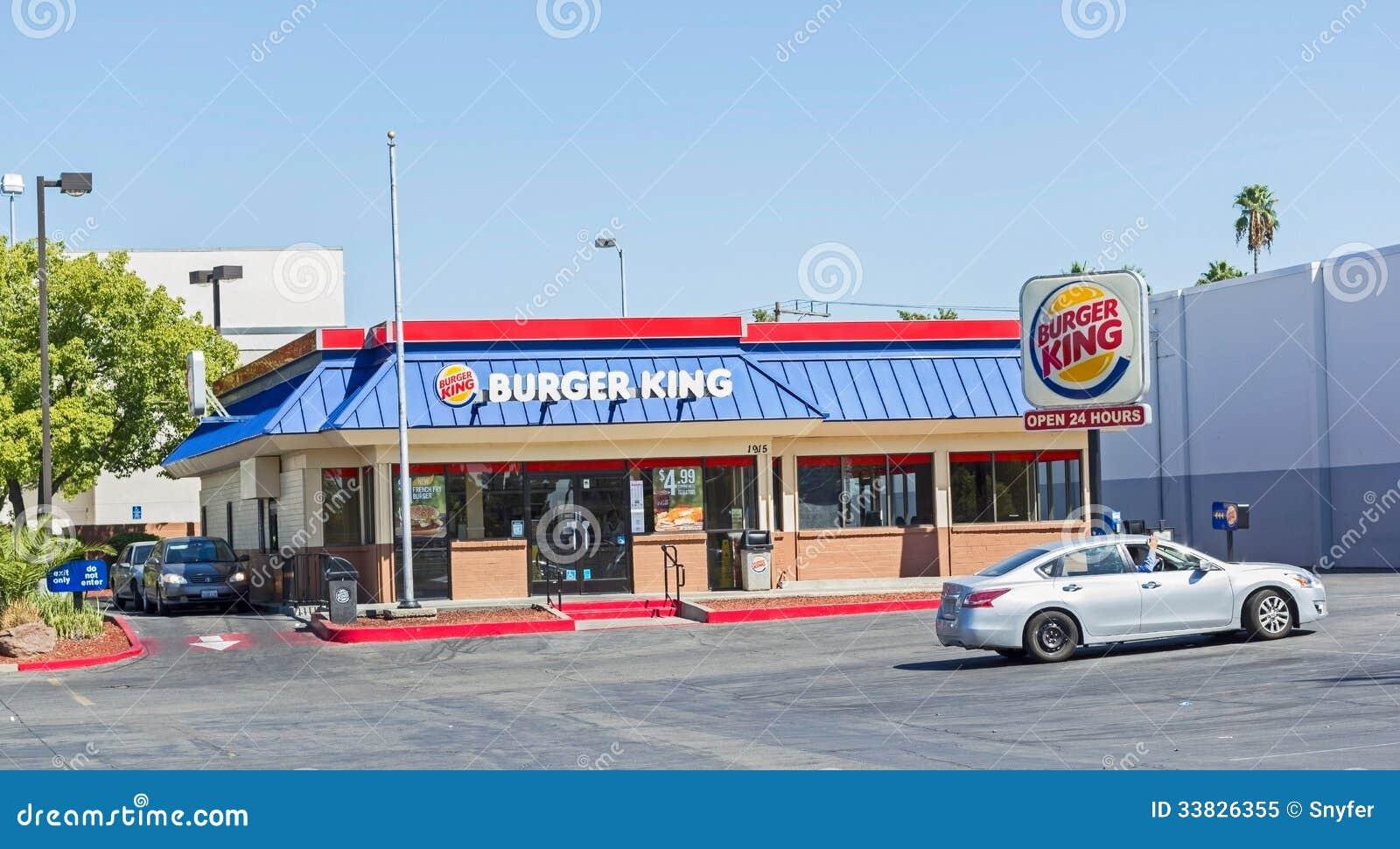 Sacramento Usa September 19 Burger King Location On Septembe Editorial Image Image 33826355