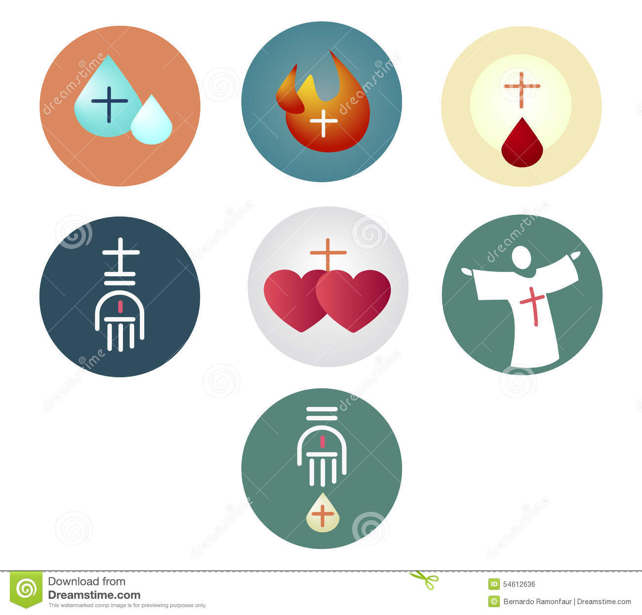 Sacraments stock illustrations 208 sacraments stock vector illustration or drawing of the 7 sacraments of the christian catholic church biocorpaavc Image collections