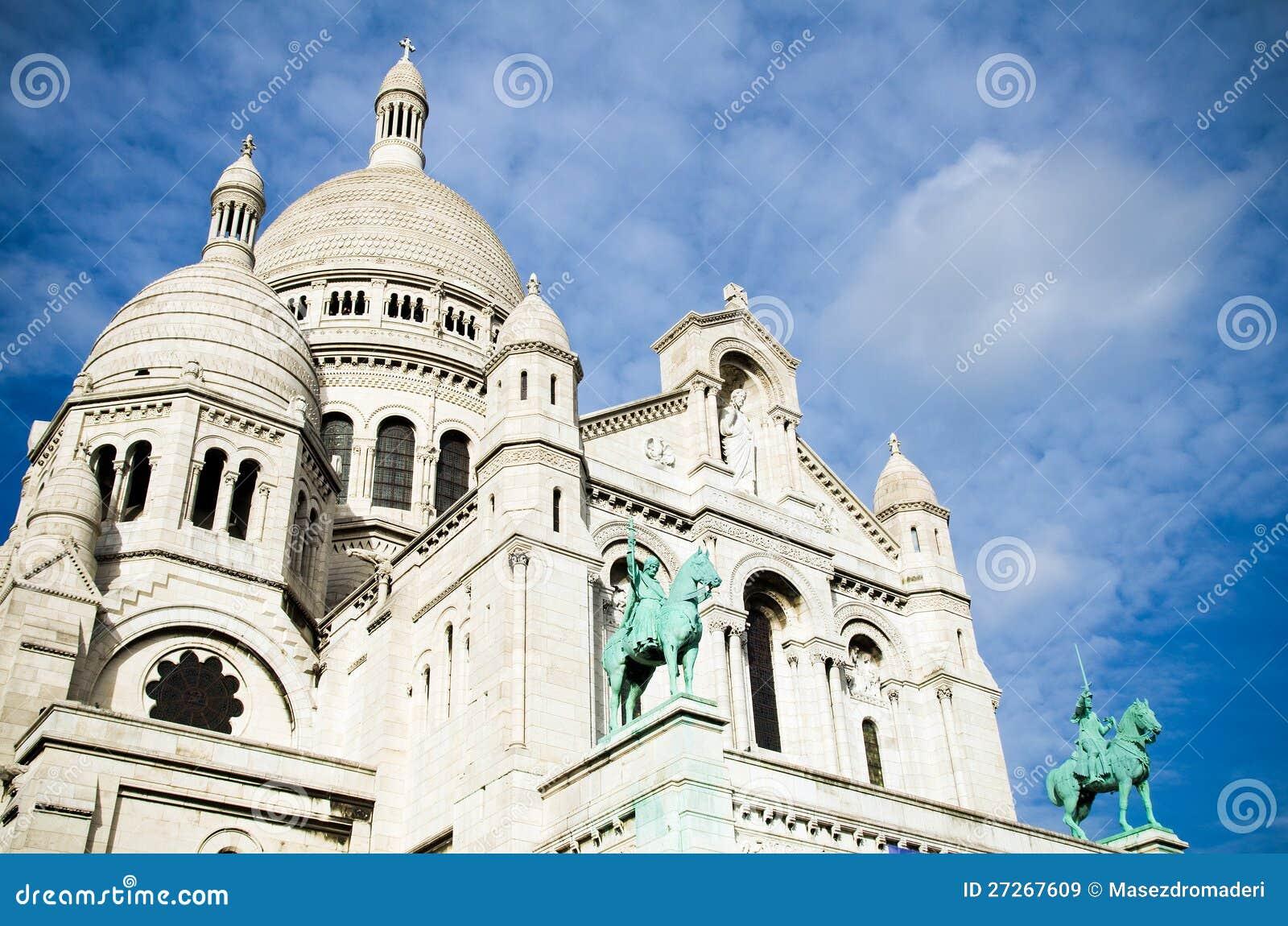 Sacre Coeur i Montmartre, Paris