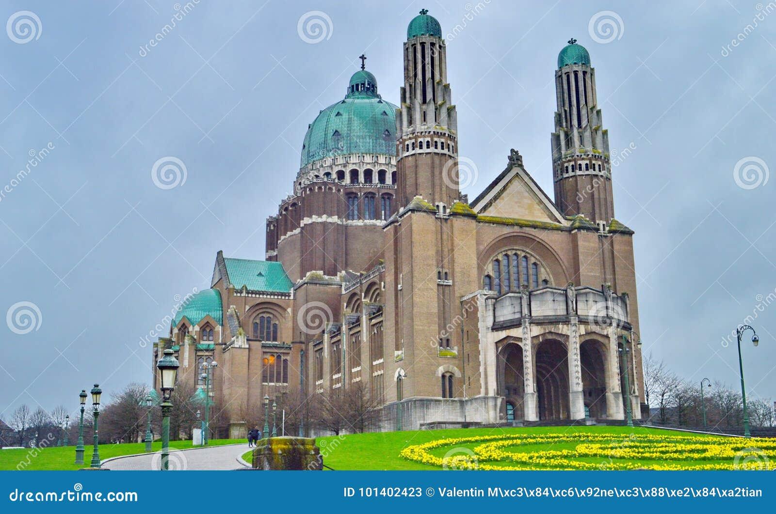 Sacre Coeur katedra w Bruksela, Belgia