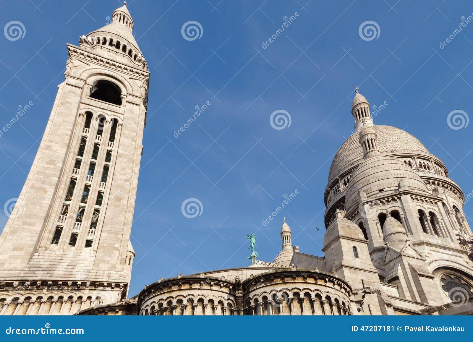 Sacre Coeur Montmartre Paris France Photo Editorial