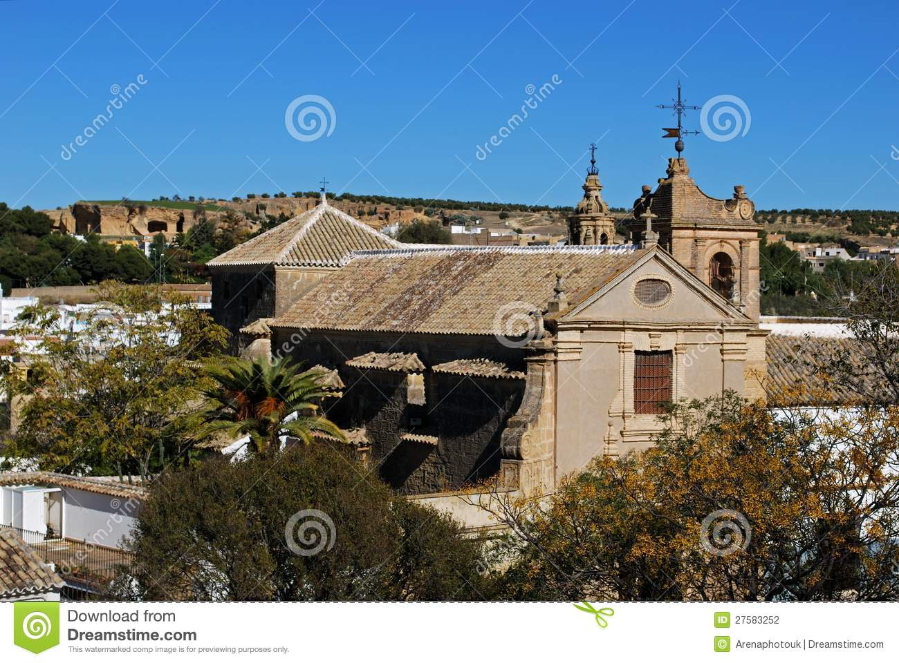 Sacred Art Museum, Osuna, Spain. Stock Photography - Image ...