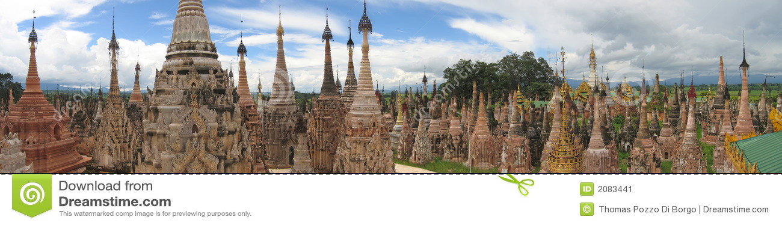 Sacred buddhist site