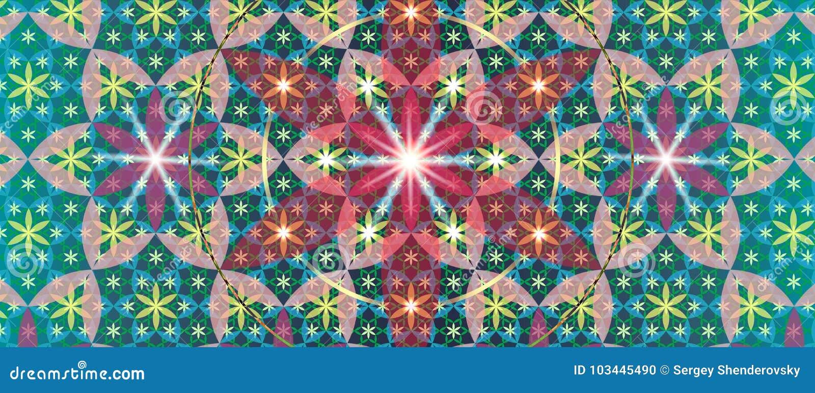 Sacred Geometry Flower III