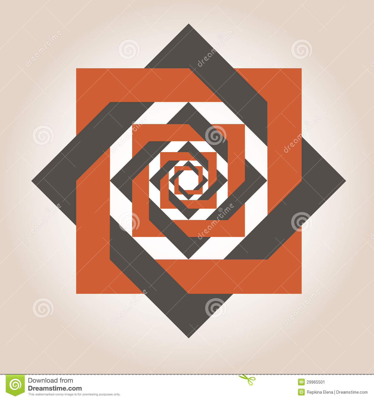 Square Geometrical Designs Stock Image Image 29965501