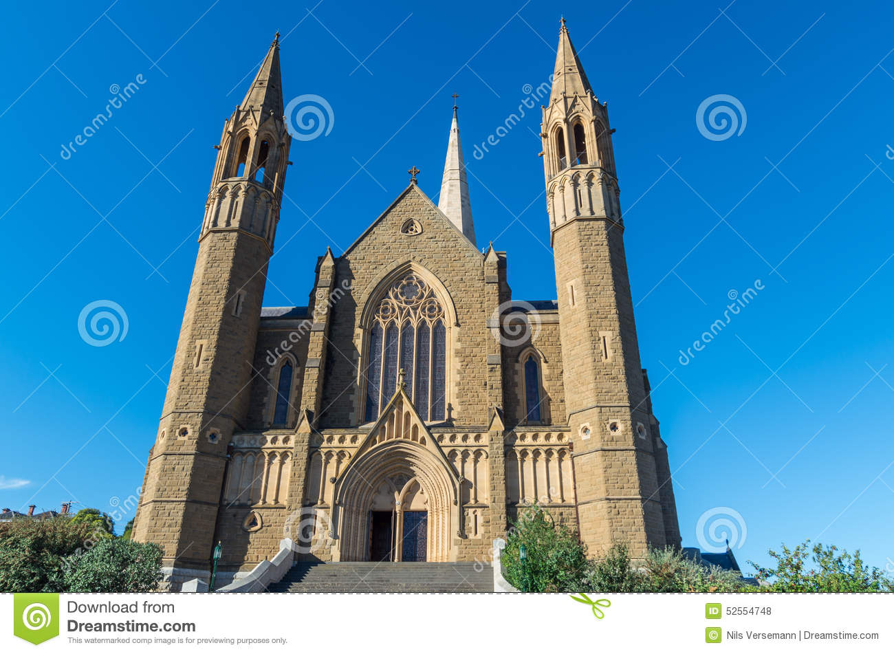 Sacred Heart Cathedral in Bendigo, Australia