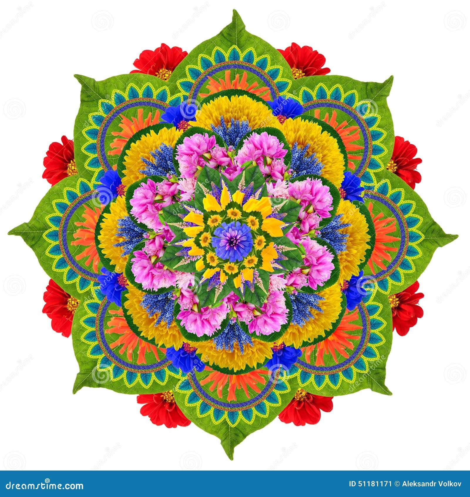 Sacred Lotus Mandala Stock Image Of Buddhism Decorative