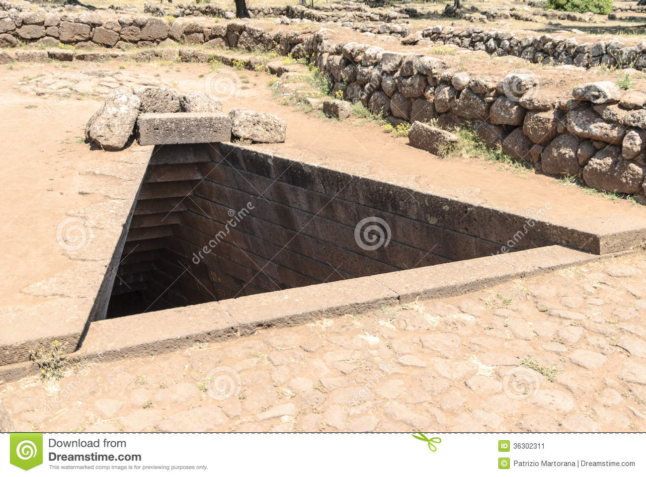 The Sacred Wells Stock Image Image 36302311