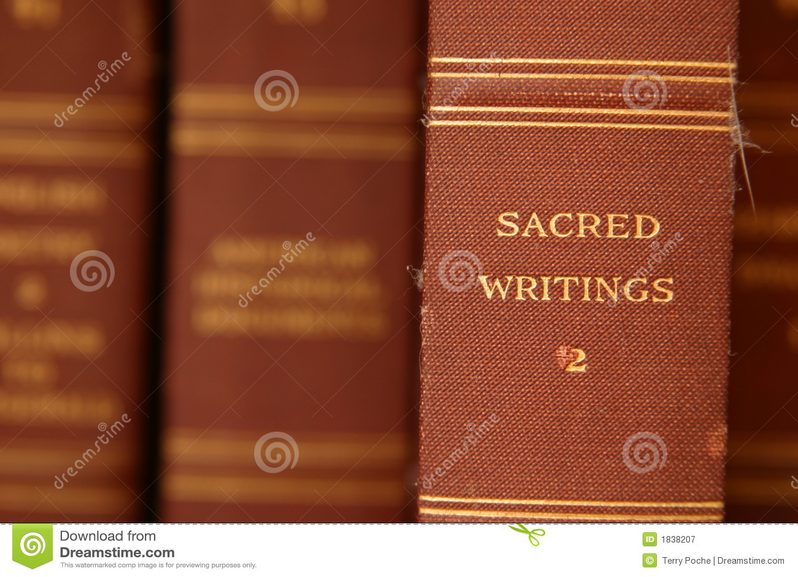Sacred Writings Royalty Free Stock Photography - Image: 1838207