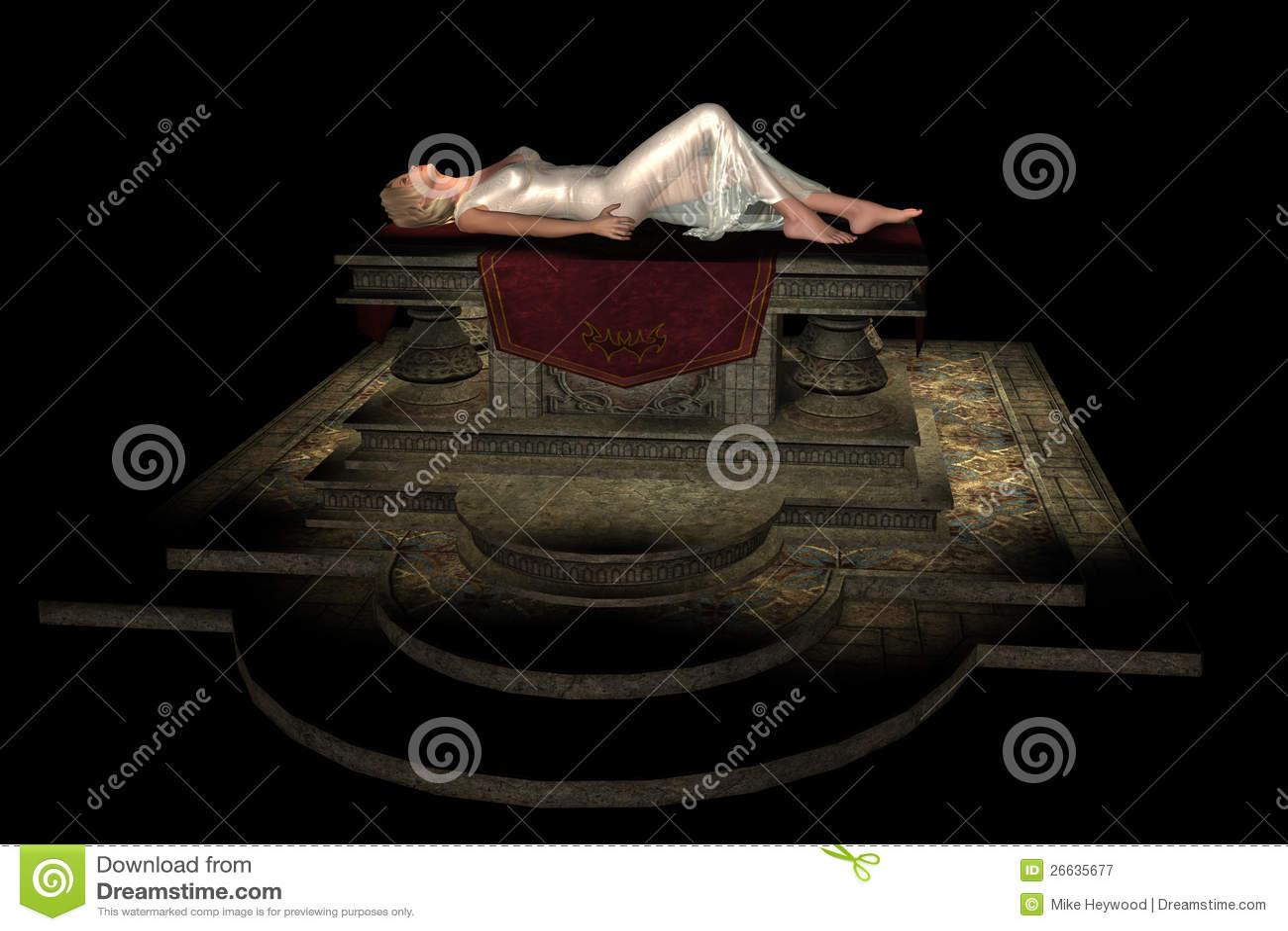 Female altar sacrifice naked movie