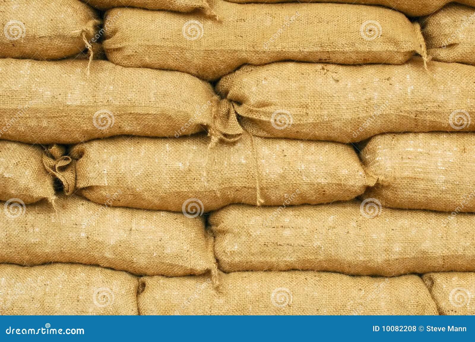 Sacs de sable photos libres de droits image 10082208 - Sac de sable inondation ...
