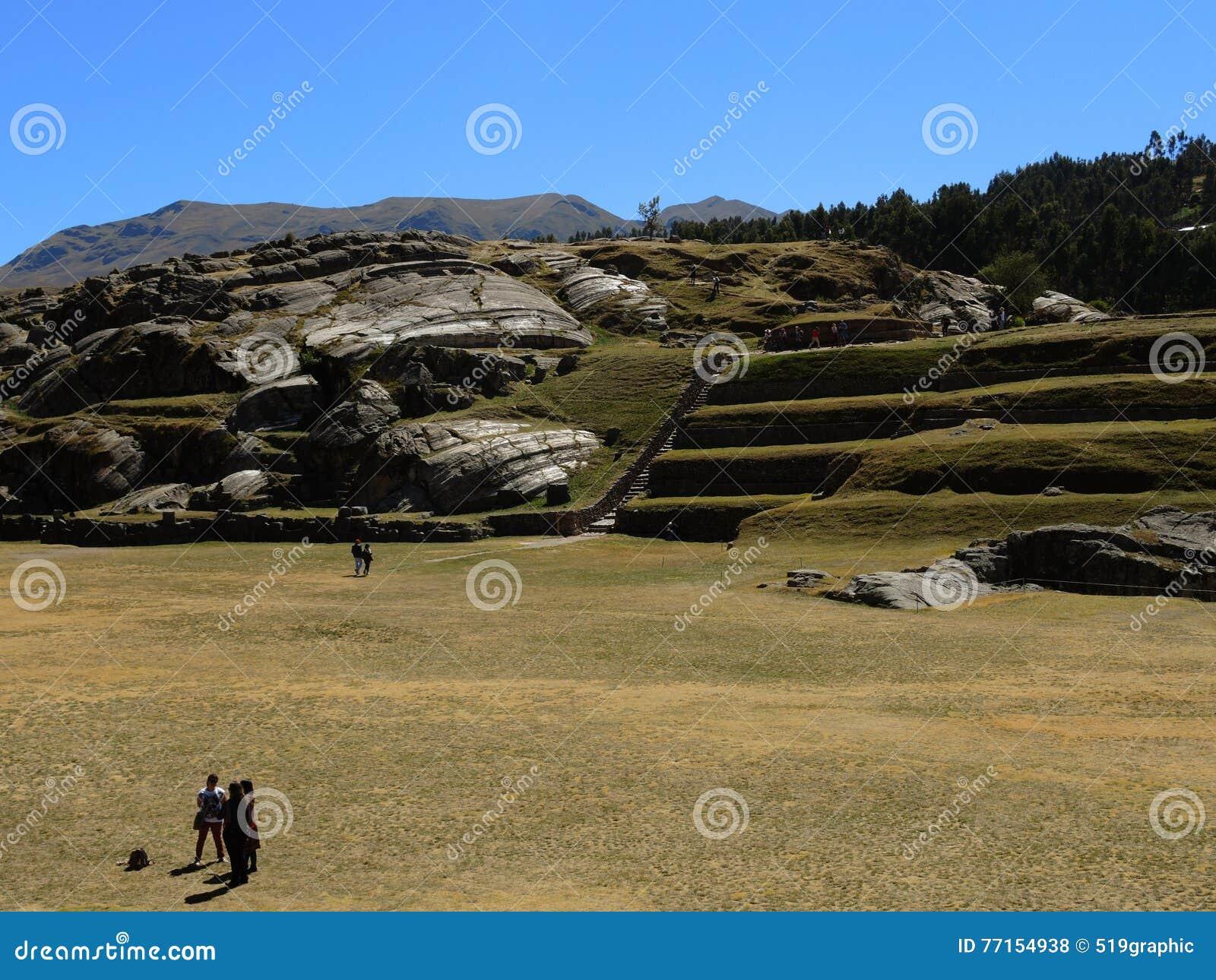 Sacsayhuaman dans Cusco, Pérou