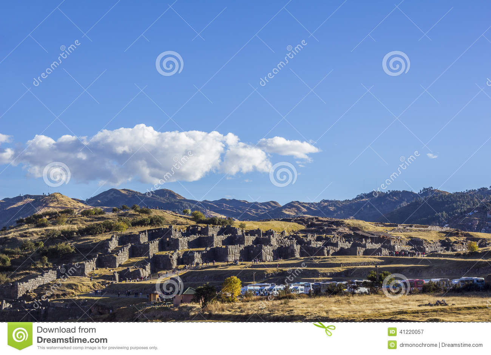 Sacsayhuaman ruine Cuzco Pérou