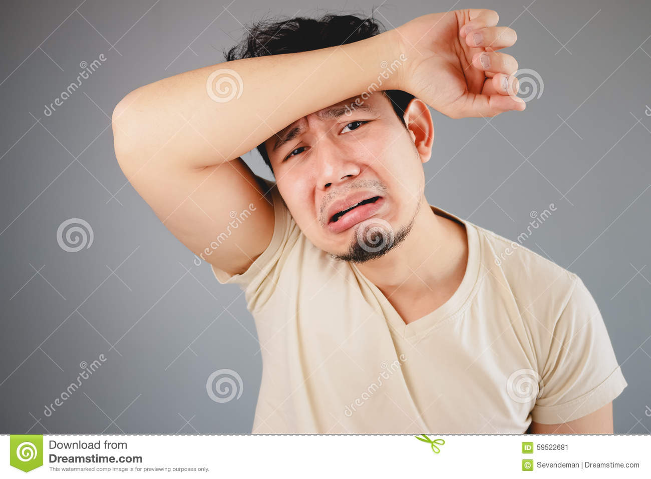 sad asian man  stock image  image of person  people  handsome