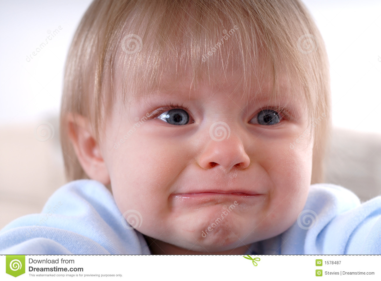 Sad Baby Royalty Free Stock Photography - Image: 1578487