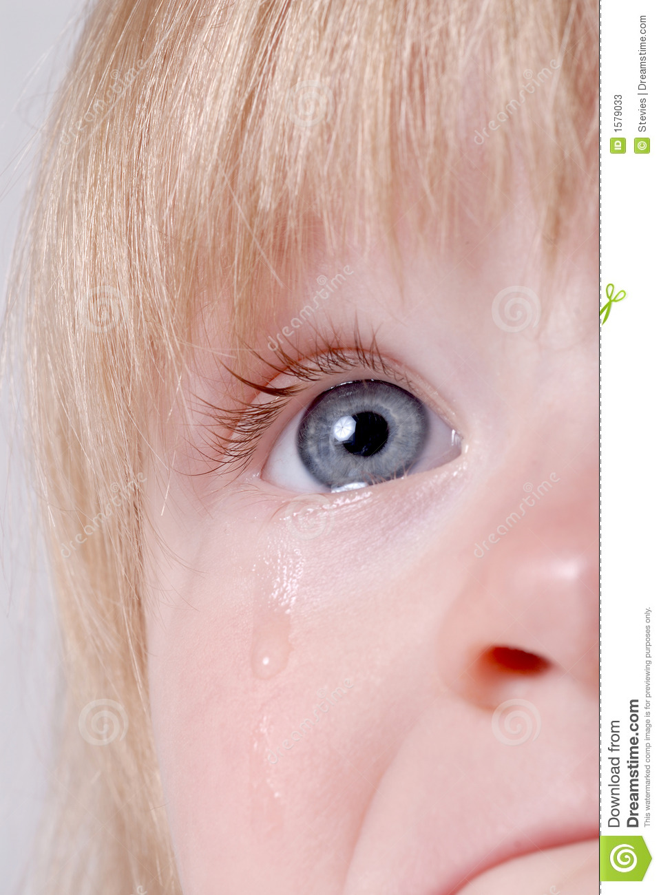 Sad Crying Baby With R...