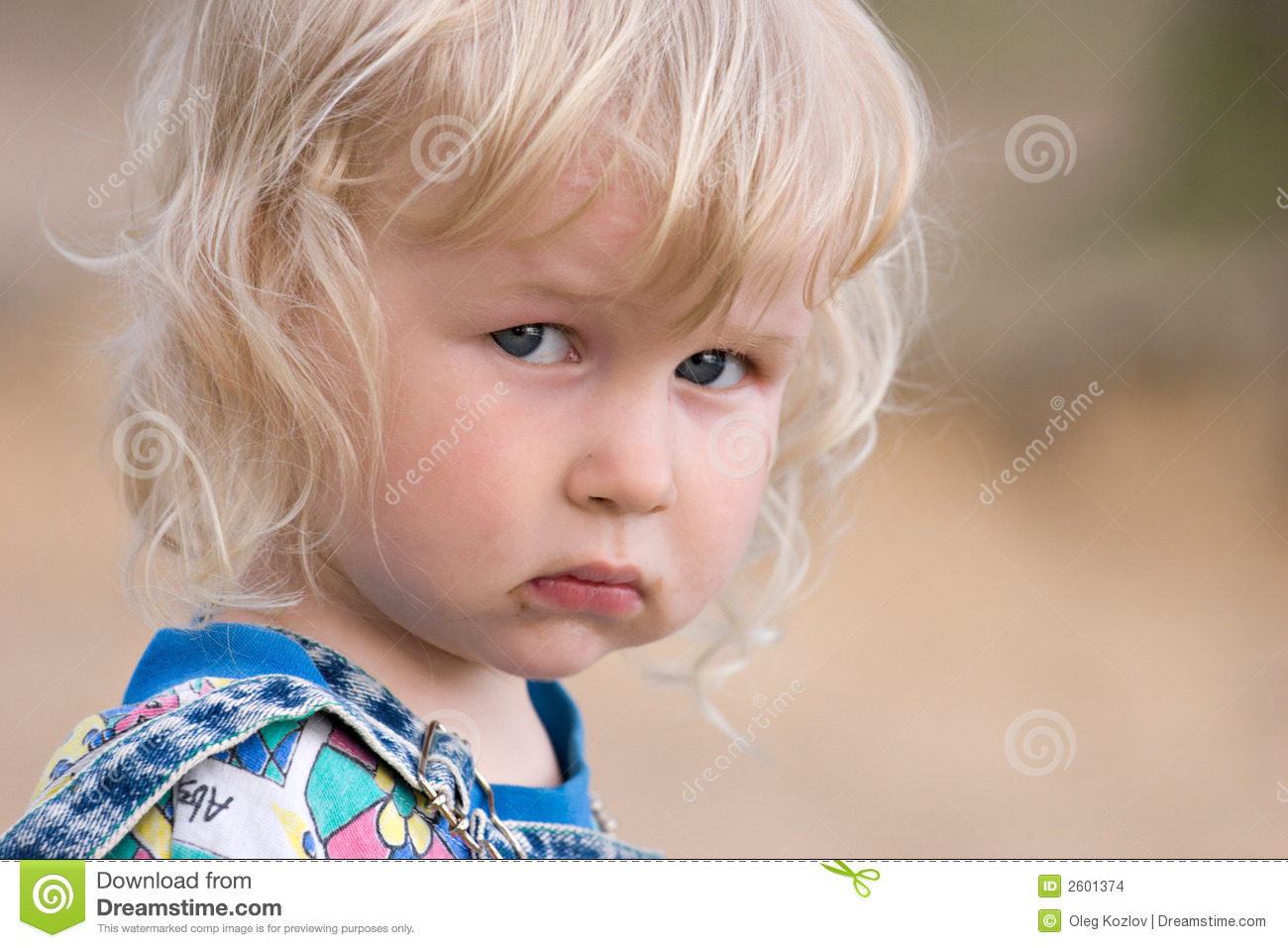 Sad Baby Stock Images  Image: 2601374