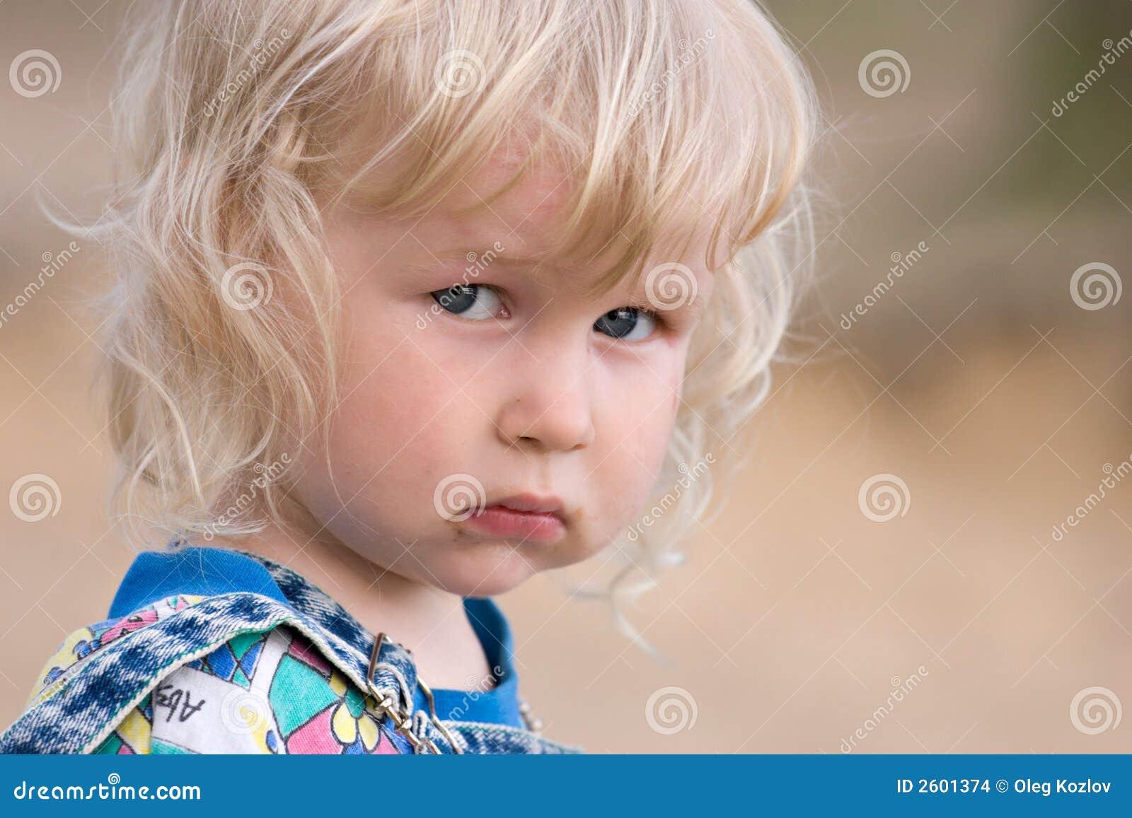 Sad Baby Stock Images  Image: 2601374