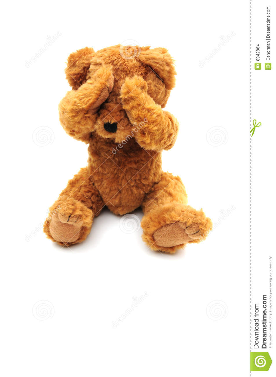 Sad Bear Stock Images Image 8942864
