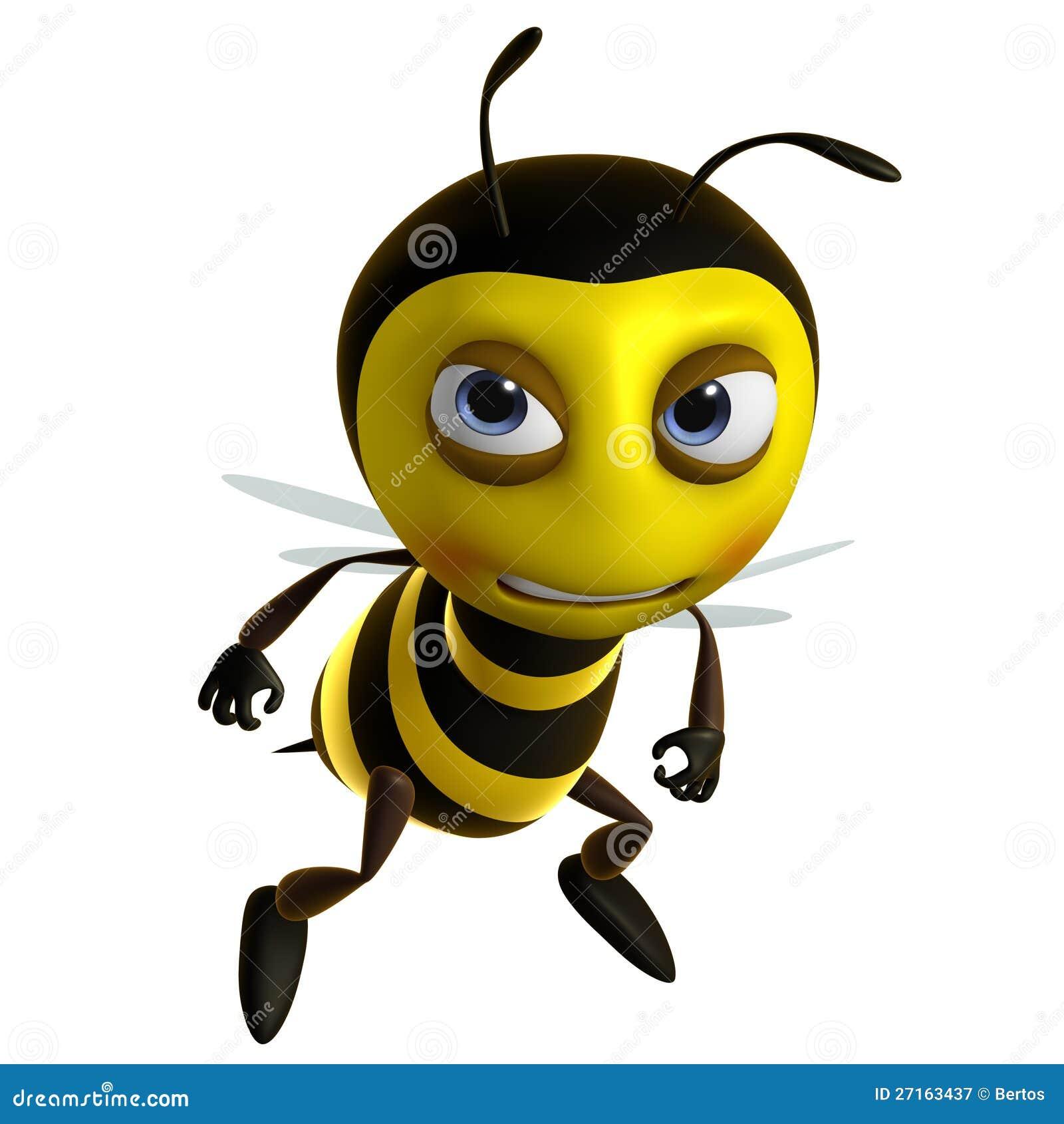 Sad Bee Royalty Free Stock Photography