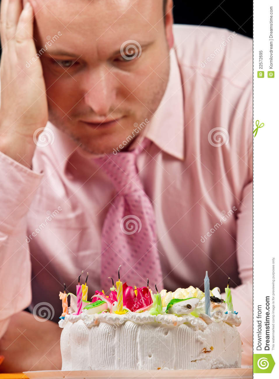 Sad Birthday Royalty Free Stock Photo Image 22572695