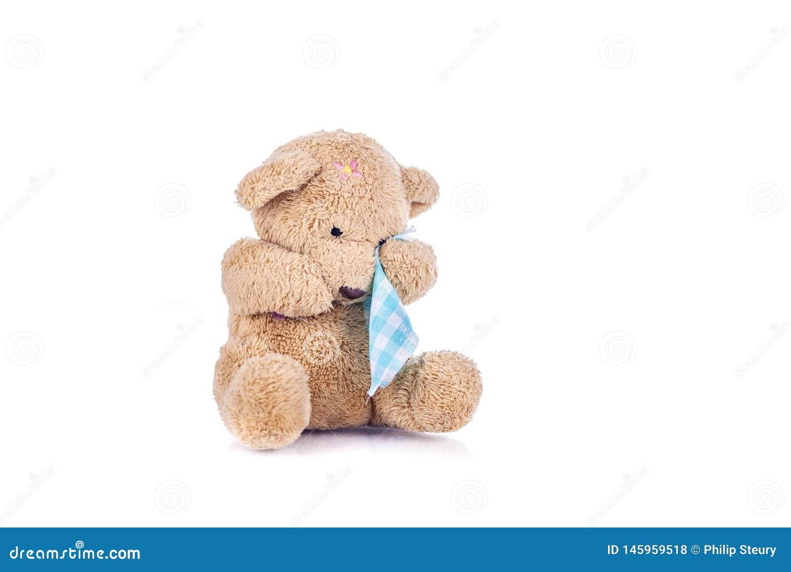 sad-brown-teddy-bear-wiping-his-eyes-blu
