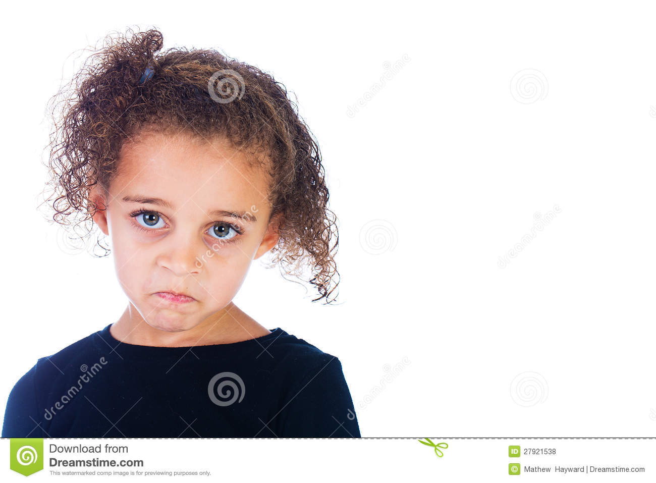 Sad Child Royalty Free Stock Photos - Image: 27921538