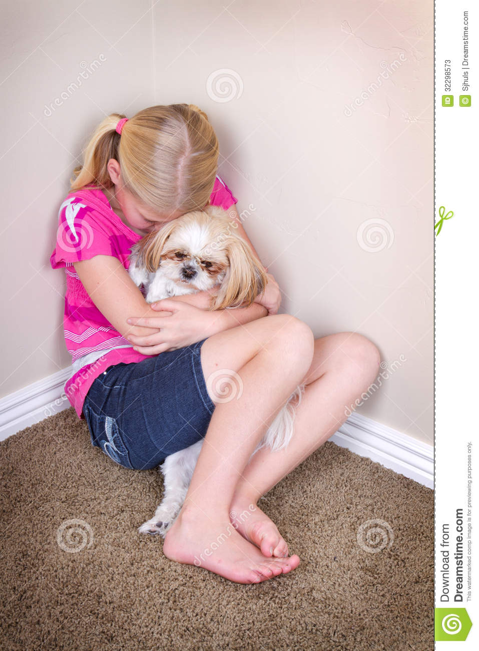 how to stop dog crying when alone