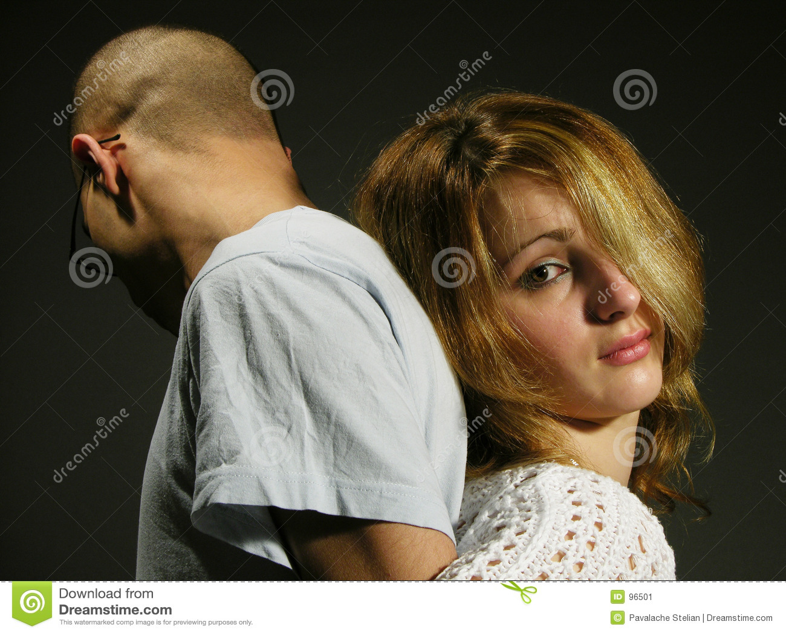 sad couple with young girl and boy 3 stock image image of couple