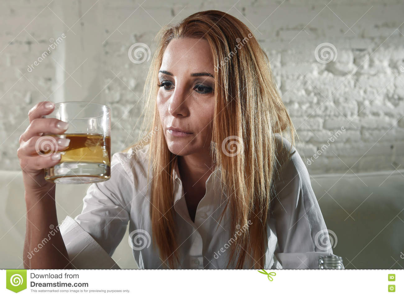 Download Sad Depressed Alcoholic Drunk Woman Drinking At Home In Housewife Alcohol Abuse And Alcoholism Stock Image - Image of face, home: 72854801