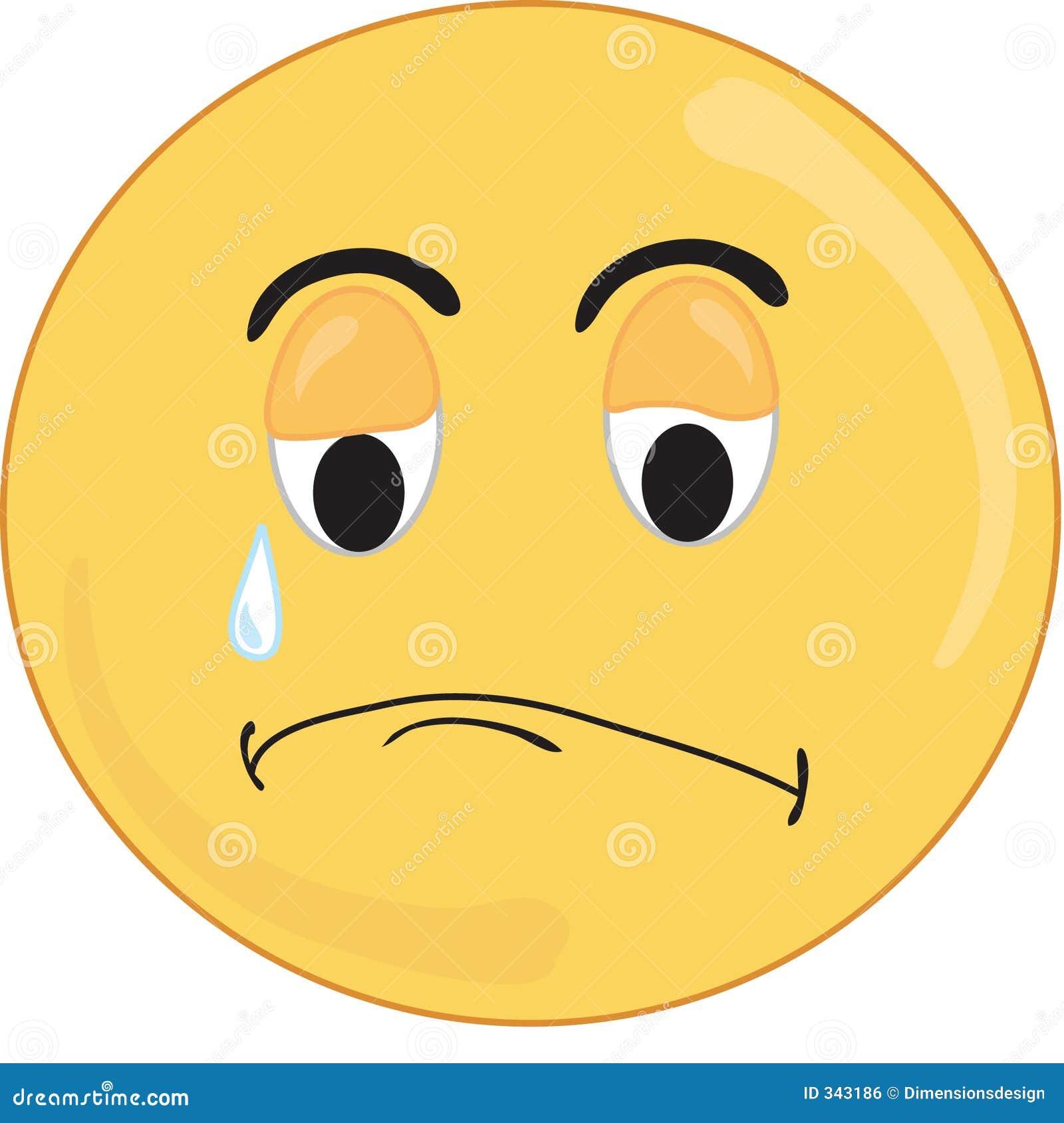 Sad: Sad Face Royalty Free Stock Image