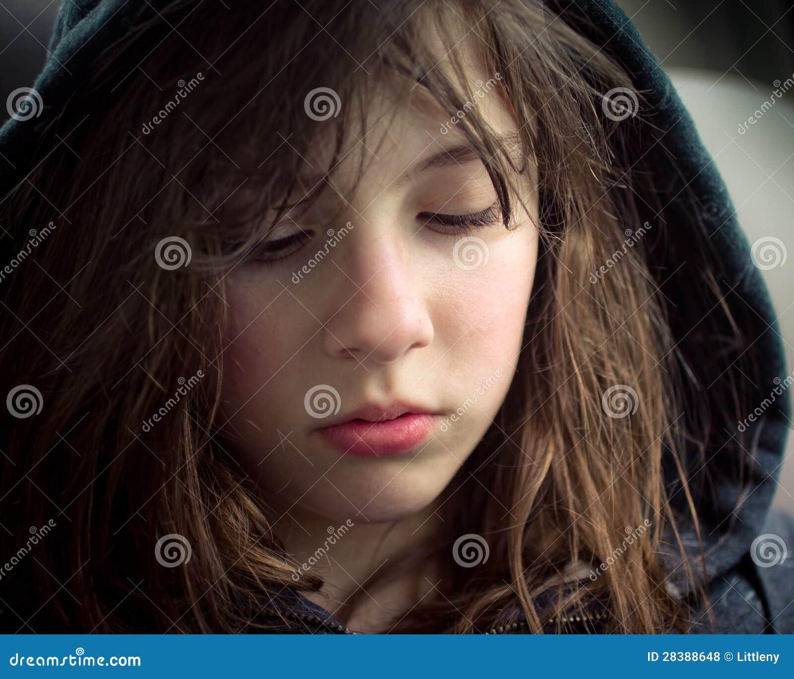 Sad Emotional Pics: Sad Girl Royalty Free Stock Photos
