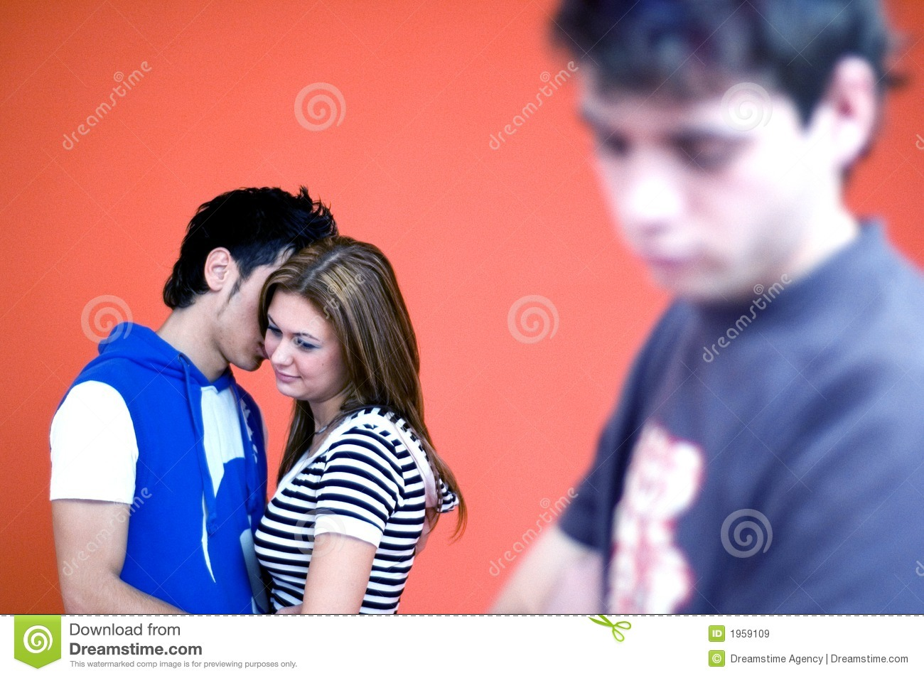 Sad Guy stock image  Image of rejection, boys, three