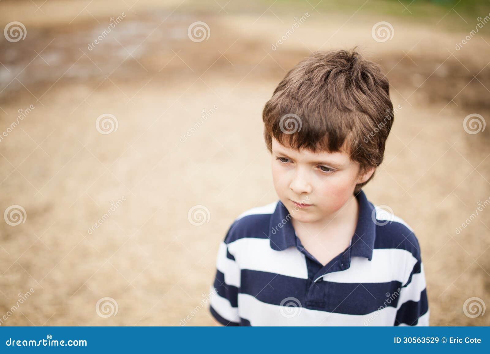 Download Wallpaper Attitude Little Boy - sad-little-boy-standing-sand-30563529  Trends_86777.jpg