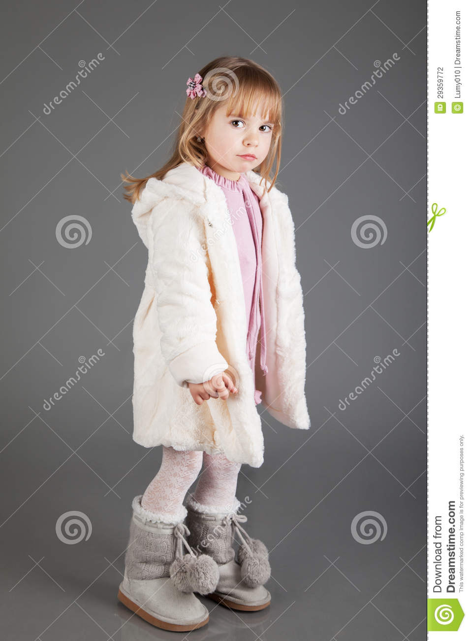 Sad Girl Crouching Stock Photos, Pictures & Royalty-Free