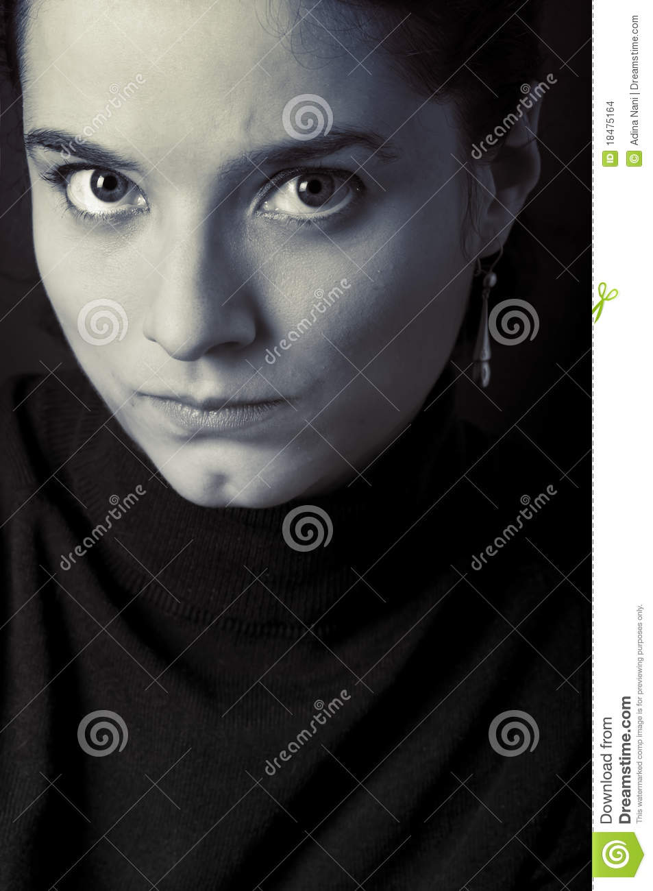 Sad Look Stock Images Image 18475164